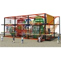 Children commercial outdoor playground equipment rope course adventure climbing net