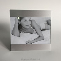 Metal Aluminum Photo Frame With Glass