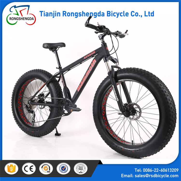 latest model price fat bike suspension fork / 7speed fat Bike bicycle 26x4.0 alibaba / snow bike for men or women
