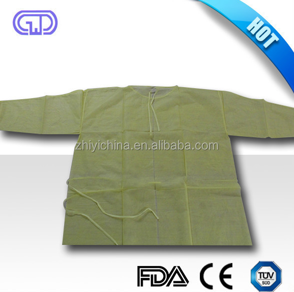 medical lab consumables pp laboratory gown non woven laboratory disposables