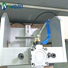 Semi Automatic hot pressure coffee valve applicator machine degassing valve applicator