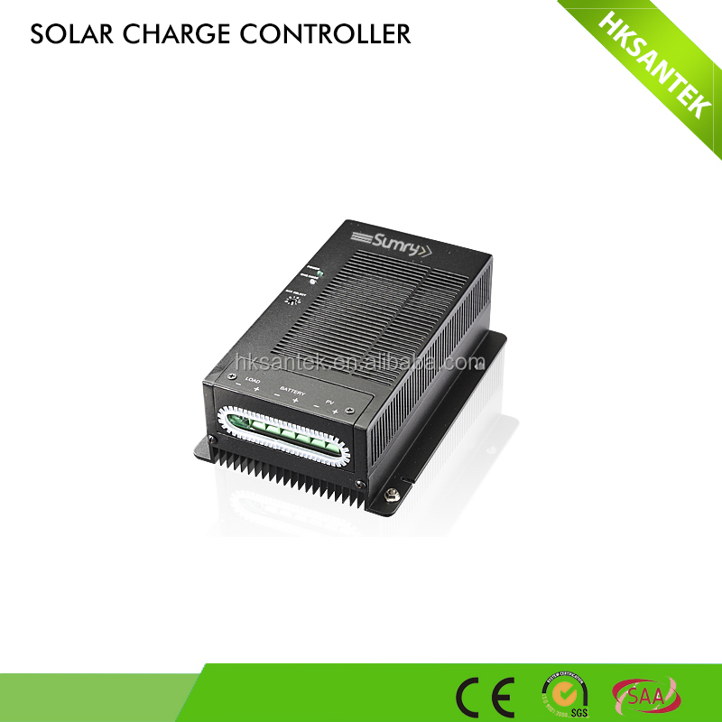 CE approved high quality 12v 24v auto switch 20a 30a 40a 50a mppt solar charger controller