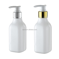 60ml 100ml 200ml 300ml plastic PET shampoo bottle with lotion pump wholesale