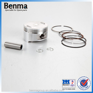 four stroke GY6-150 piston with top quality, piston ring for gy6 motorcycle