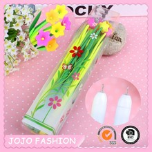 Beautiful flower plastic pen cheap promotional items for kids