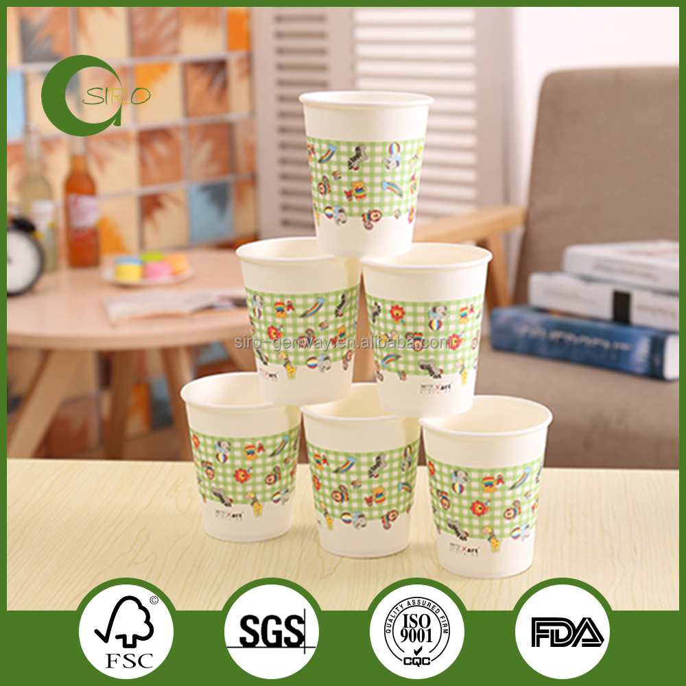 Healthy PLA espresso paper cups,wholesale paper coffee cups