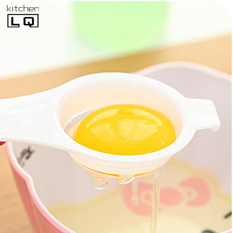 Pas cher bonne qualit en plastique jaune d 39 oeuf blanc s parateur cuisine outils oeuf diviseur - Cuisine de bonne qualite ...