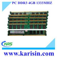 2016 Wholesale Memory Ram 4 gb 1333 mhz ddr3 for Desktop
