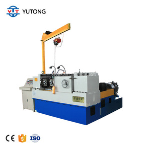 Automatic screwing machine nut bolt making machine steel rod threading machine