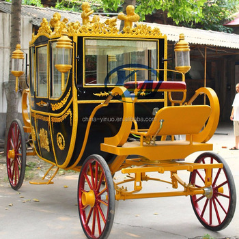 Horse carriage for sale Luxury royal horse wagon