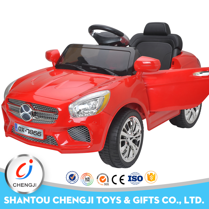 China supplier newest remote control 2.4G kids ride on electric cars
