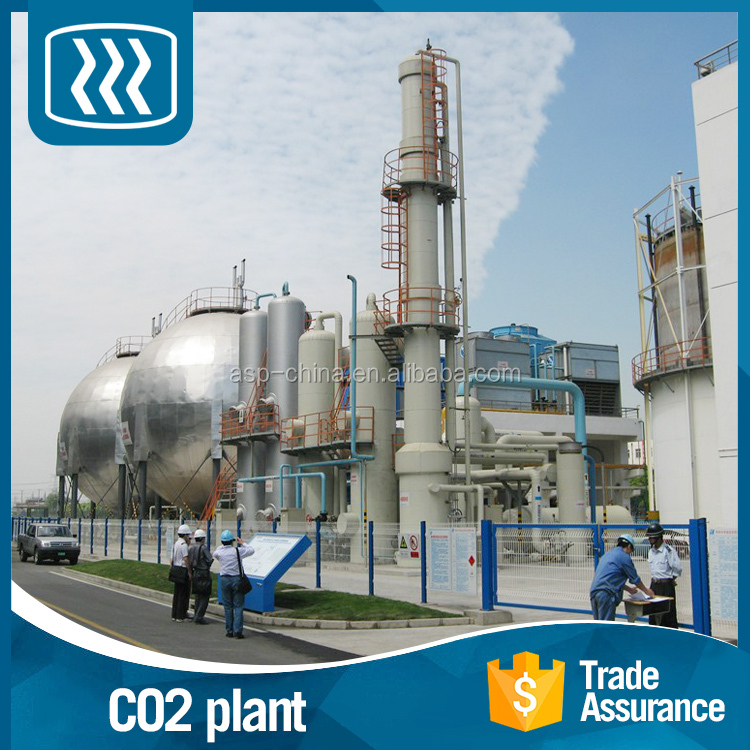 BV certificated industrial production co2 recovery plant