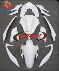 Motorcycle Fairings For Sale Bodywork Fairing Fairing Kit For PCX 125 motorbike FRP White Body Parts Kits Cover