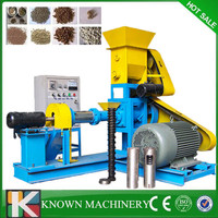 Industrial use automatic floating fish food extruder,floating fish feed extruder with CE
