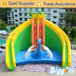 Jumbo Inflatable Amusement Park Water Slide for Pool