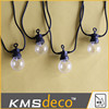 Newest IP44 dual color led ball string festoon party lights