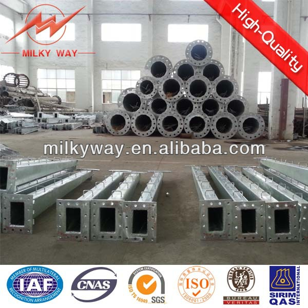 220kV Steel Pole for Electrical Transmission System