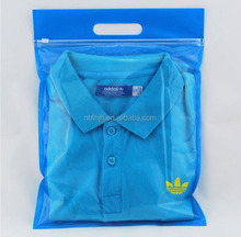 Good quality custom printed plastic zip lock bags for apparel packaging