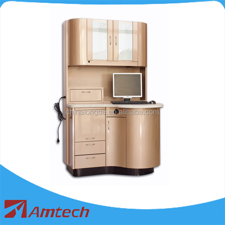 2017 fashion design high quality AM-18 dental cabinet/dental furniture with multi drawers