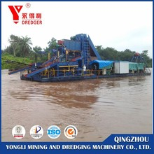 New design gold dredger ship for sale