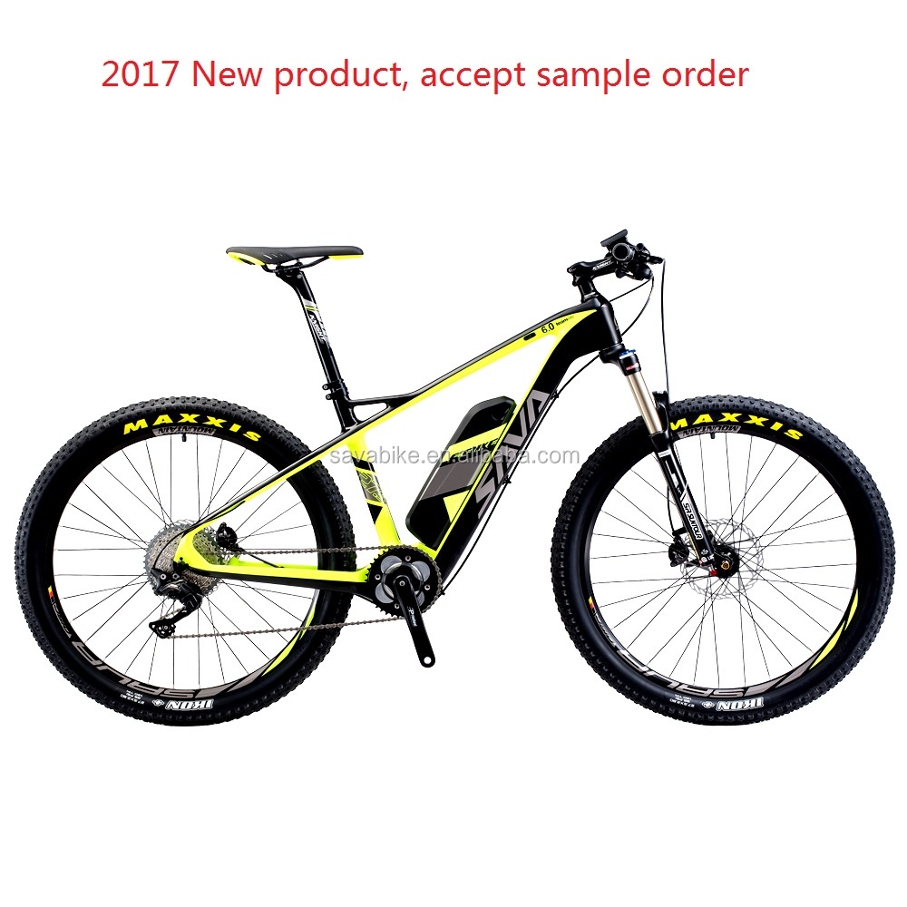 Hot sell electric efficient carbon <strong>frame</strong> mtb quick charge Samsung battery cell 36V 13AH electric bicycle deore xt electric bike