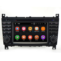 Android 7.1 OS Car Radio Stereo Video Player For Benz C Class W203 C200 C230 C240 C320 C350 With DVD GPS Navigation Multimedia
