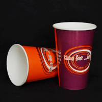 8oz/12oz/16oz/20oz disposable hot drink coffee paper cup with lid and sleeve