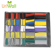 new design 500pcs 10.4 Mpa tensile strength shrinkable tubing heat shrink tube