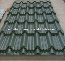 color steel roof tile India for construction real estate
