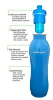 Wide mouth Stainless Steel Water Bottle with water filter: WaterGeeks Brand