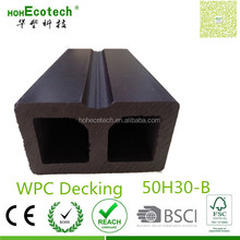 Sawable wood plank under-structure wpc anti-mildew pest-free keel