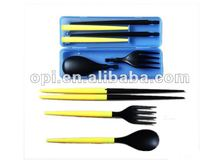 2012 Promotional chopsticks spoon fork set 120028a