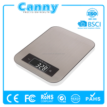 FDA approved electronic cooking s/s kitchen weight scale 10kg