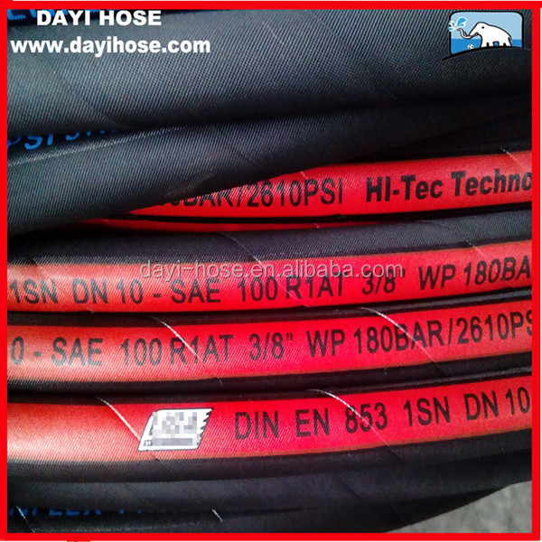 China Good quality Good price High pressure oil rubber hose <strong>R1</strong> 1SN