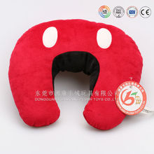 China factory plush pillow & memeory cotton neck pillow wholesale plush organic baby toys