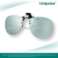 3d linear polarized glasses clip style