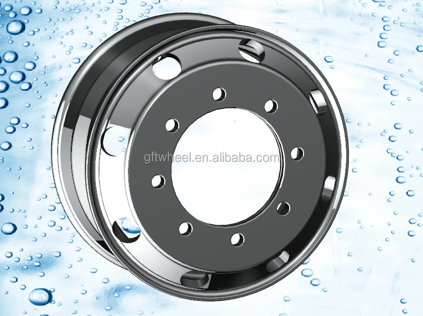 aluminum alloy wheel rim light truck wheel custom semi truck wheels