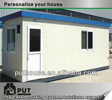 temporary prefab prefabricated site container office