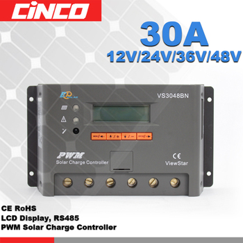 pwm solar charge controller/regulator 30A 48V