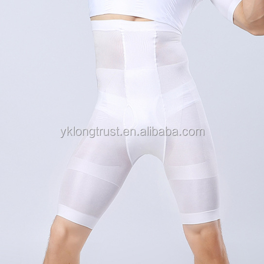 NY050 men high waist slimming pants slimming body shaper short pants Slimming underwear