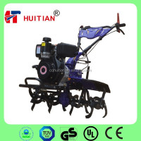 HT-1000K 6HP Diesel Mini Rotavator Tiller With 3forward Gear