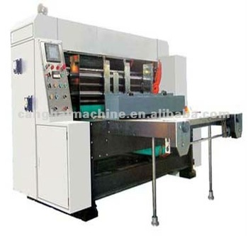 Automatic High-Speed Slotting Machine/High-speed Automatic Flexo Printing and Slotting Die-cutting Machine