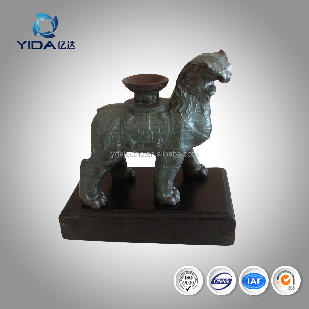 best metal craft gift to ward off bad luck 140x70x130 bronze lion statues