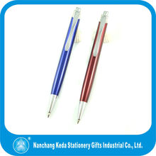 2014 Engraved Designs Delicate Beautiful metal cheaper anodized aluminum pen