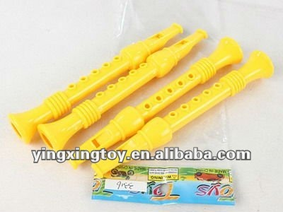 kids plastic colorful toy flute