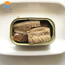 Canned Mackerel fillets in sunflower oil in 125g