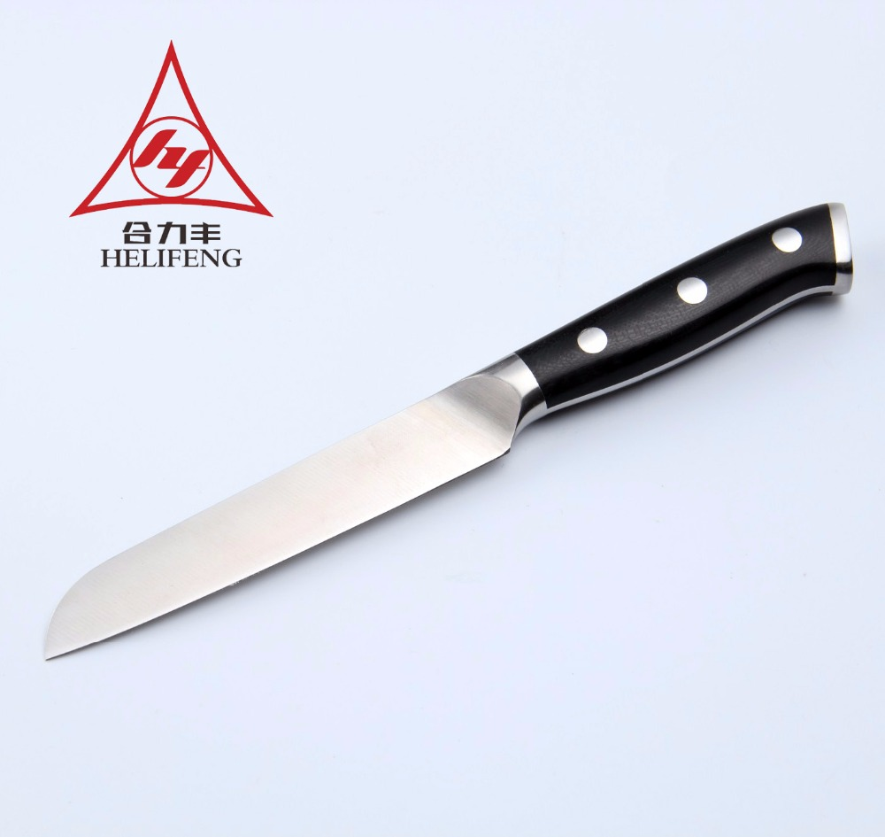 PD9108 Good Quality Nice <strong>Design</strong> 3.5 Inch <strong>G10</strong> Handle Paring knife