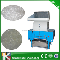 Hot selling plastic PET bottle crusher/granulator/crushing machine