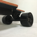 chinese 90mm wheel brushless hub motor 100% canadian maple longboard electric skateboard