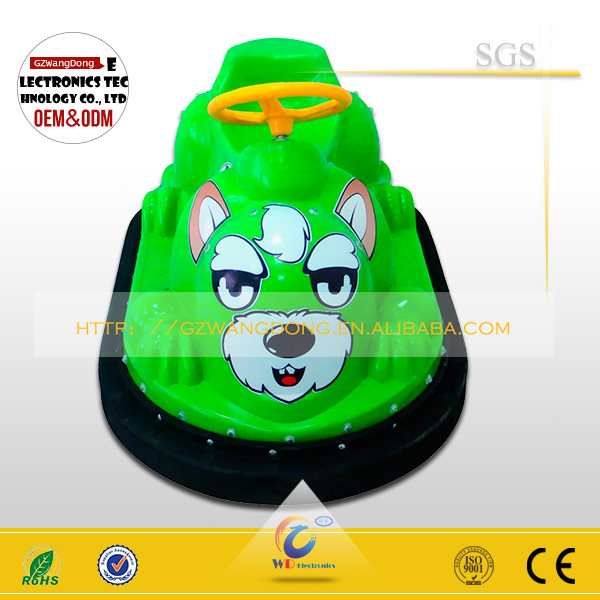 Exclusive inflatable battery coin operated ufo electric vintage bumper cars